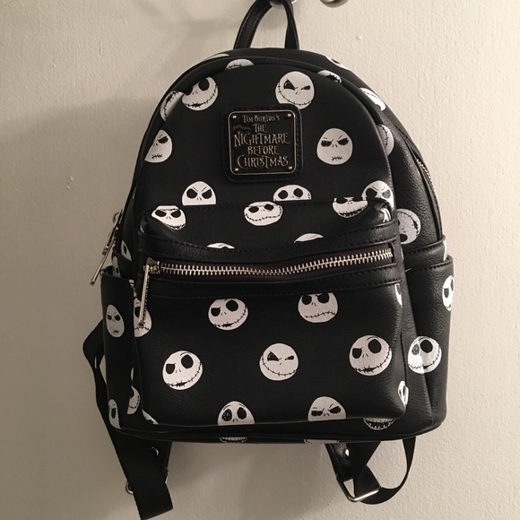 Hot Topic Nightmare Before Christmas Backpack.The Nightmare Before Christmas Mini Backpack